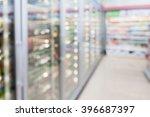 convenience store refrigerator... | Shutterstock . vector #396687397