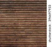 Small photo of Brown and rusty iron curtain texture