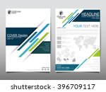 annual report brochure flyer... | Shutterstock .eps vector #396709117
