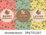 set of chocolate seamless  for...   Shutterstock .eps vector #396751267