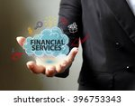 financial service concept with...