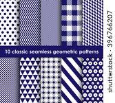 geometric patterns seamless.... | Shutterstock .eps vector #396766207