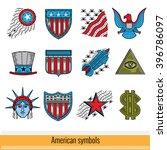 color outline web icon. symbols ... | Shutterstock .eps vector #396786097