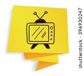 doodle tv | Shutterstock . vector #396930247