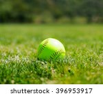 Softball At A Softball Field I...