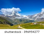 views of the mountain... | Shutterstock . vector #396954277