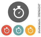 stopwatch icon | Shutterstock .eps vector #396966247