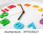 Colorful Clock Or Time Abstrac...
