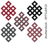 traditional geometric oriental... | Shutterstock .eps vector #397116913