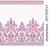 seamless lace pattern  flower... | Shutterstock .eps vector #397153717