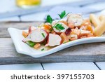 Fresh Octopus Salad Tapa With...