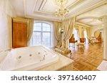 the interior of bathroom   Shutterstock . vector #397160407