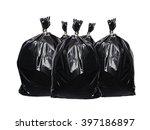 trash bag isolated on white... | Shutterstock . vector #397186897