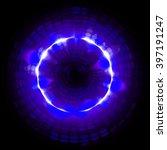 abstract smooth light dark...   Shutterstock . vector #397191247