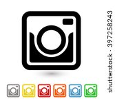 photo camera icon | Shutterstock .eps vector #397258243