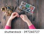 making of handmade jewellery....