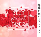happy mothers day design... | Shutterstock .eps vector #397295707