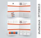 abstract flyer design... | Shutterstock .eps vector #397308313