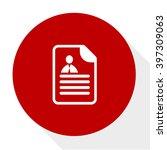 curriculum vitae icon | Shutterstock .eps vector #397309063