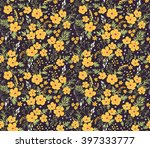 beautiful pattern in small... | Shutterstock .eps vector #397333777