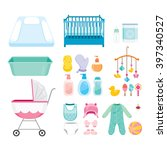 Baby Icons Set  Accessories ...