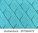 Knitted Fabric Background Clos...