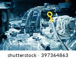 the car engine  engine... | Shutterstock . vector #397364863