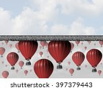 hitting a wall and reach the... | Shutterstock . vector #397379443