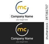 mc business logo icon design...