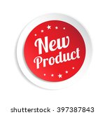new product sticker | Shutterstock .eps vector #397387843