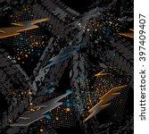 abstract seamless grunge... | Shutterstock .eps vector #397409407