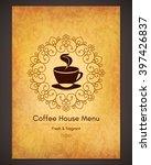 restaurant or coffee house menu ... | Shutterstock .eps vector #397426837