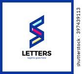 super rate logo   letter s line ... | Shutterstock .eps vector #397439113