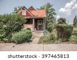 an old run down house | Shutterstock . vector #397465813