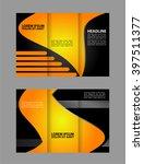 tri fold brochure template... | Shutterstock .eps vector #397511377