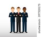 teamwork concept design  | Shutterstock .eps vector #397520173