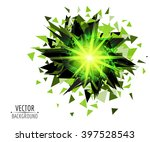 bright blast in dark vector