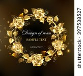 Wreath Of Gold  Jewelry Roses...
