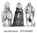 Court Lady  Marie De Medici...