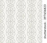 linear seamless pattern.... | Shutterstock . vector #397656823