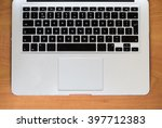 A Keyboard Of A Laptop Compute...
