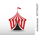 circus entertainment design  | Shutterstock .eps vector #397734157