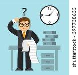 businessman in a business suit ...   Shutterstock . vector #397738633