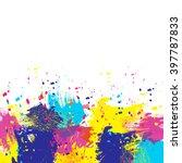 vector watercolor background....   Shutterstock .eps vector #397787833