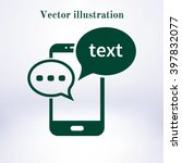 mobile phone representing web...