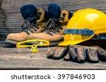 standard construction safety | Shutterstock . vector #397846903