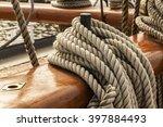Ropes Of An Old Sailing Ship...
