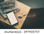 smartphone with small... | Shutterstock . vector #397935757