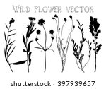 set black silhouettes of wild... | Shutterstock .eps vector #397939657