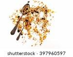 delicious granola muesli cereal ... | Shutterstock . vector #397960597